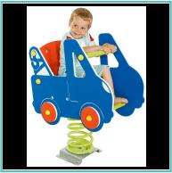 Rugós autó (beleülős)