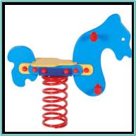 Rugós ló (ráülős)
